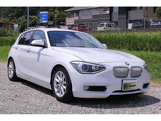 BMW 1シリーズ 116i 純正地デジナビ 純正16インチアルミホイール Bカメラ HID キーレス プッシュスタート コンビシート ETC 足回り改 車検有効期限 2021年6月 走行距離 7.5万 ボディーコーティング済み