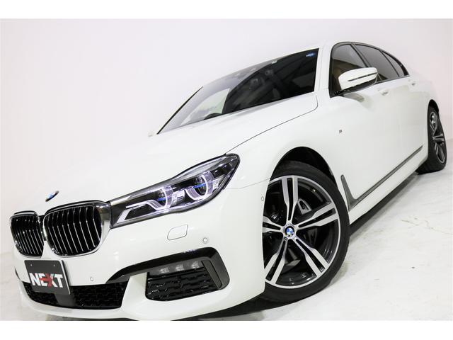 BMW 740iMスポーツ ワンオーナー 禁煙 OP20アルミ 茶革