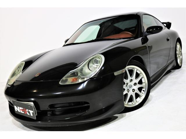 ポルシェ 911カレラ 禁煙 GT3エアロ 6MT 赤革 サンルーフ