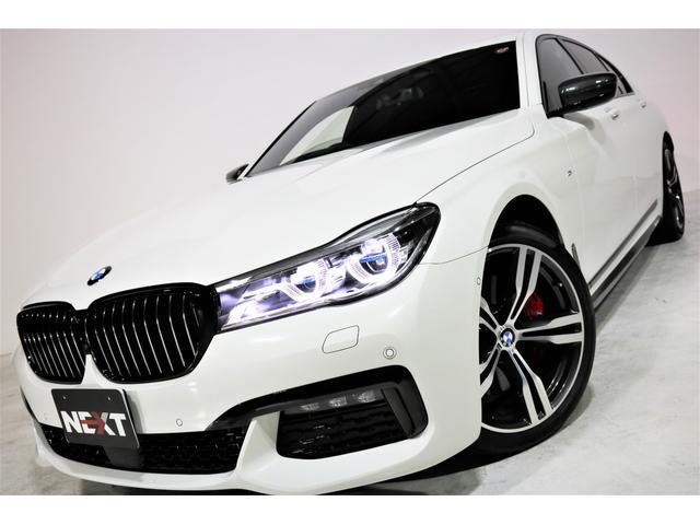 BMW 750i Mスポーツ ワンオーナー 禁煙 黒革 SR