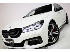 BMW750i Mスポーツ ワンオーナー 禁煙 黒革 SR