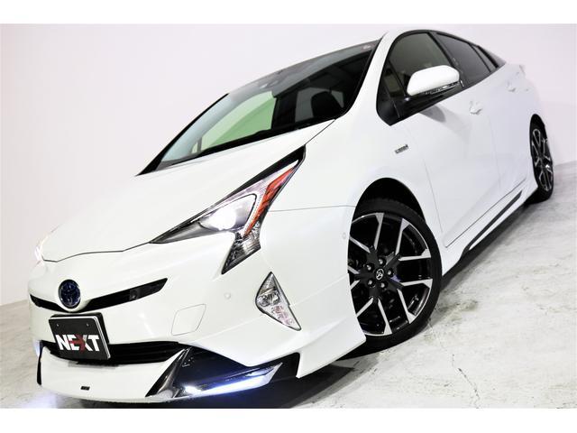 トヨタ Sセーフティプラス ワンオーナー 禁煙 ALPINE9型ナビ