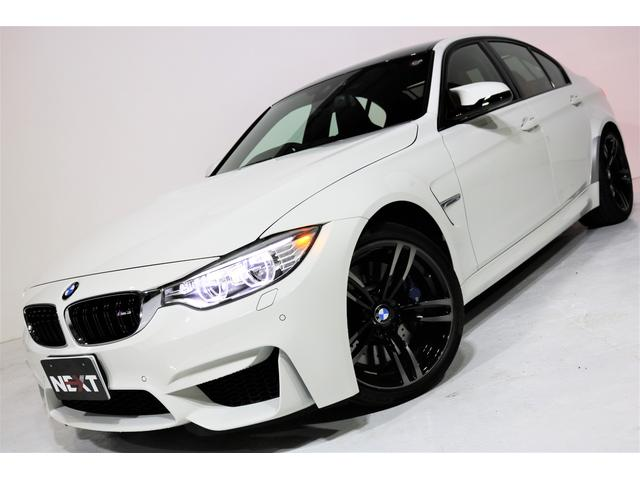 BMW M3 禁煙車 赤革 カーボンルーフ