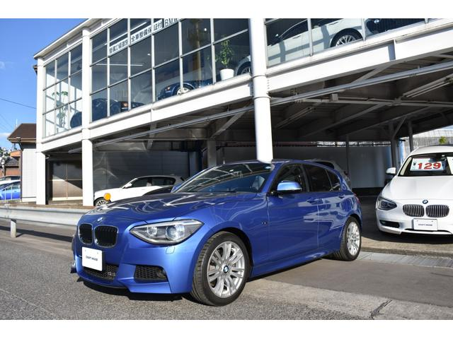 BMW 116i Mスポーツ ワンオーナー 純正ナビ 整備保証付