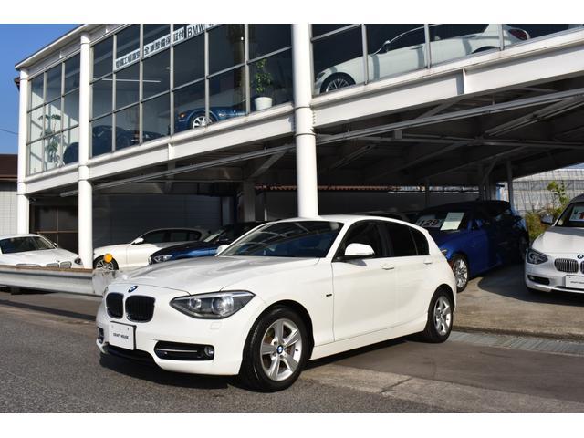 BMW 116i スポーツ ワンオーナー 純正ナビ付