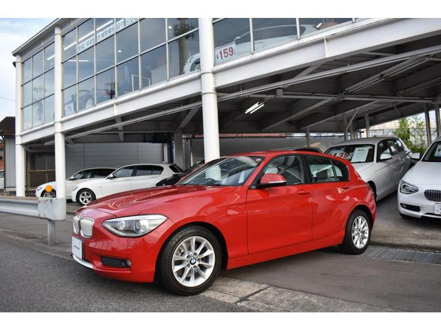 BMW 116i スタイル 白革シート ナビ&バックカメラ&TV