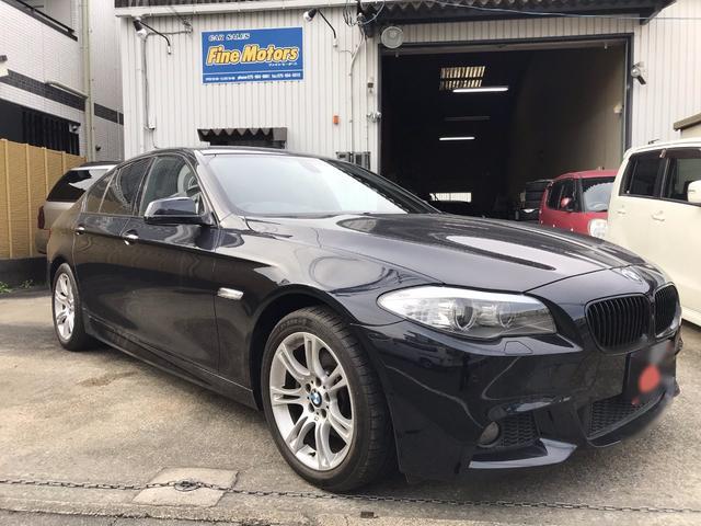 BMW 528i Mスポーツパッケージ 右H ブラックレザーシート