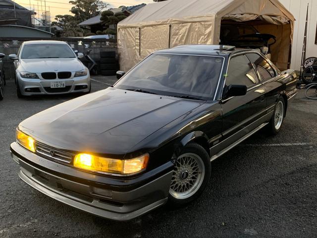 日産 XS ターボ BBSアルミ 車高調 外マフラー エアロ