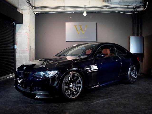 BMW M3 M3クーペ 後期LCIモデル/Mドライブパッケージ/レッドレザーシート/シートヒーター/純正後期iDriveHDDナビ/地デジTV/バックカメラ/コンフォートアクセス/純正OP19inAW/FカーボンRIP