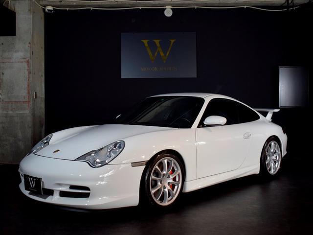 ポルシェ 911 911GT3 996最終GT3/6速MT/ブラックレザースポーツシート/事故無車両/内装べたつき無/ナビゲーション/フルセグ地デジ/バックカメラ/Bluetooth/ETC/キセノンヘッドライト/記録簿・スペアキー