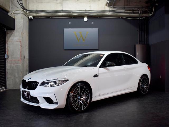BMW コンペティション 右H/6MT/ハ-マンカ-ドン/カ-ボンドアミラ-/ワンオーナー/LEDライト/純正19inAW/黒革/シートヒーター/カーボントリム/ブラックキドニーグリル/Bカメラ/ドラレコ/ETC/スペアキー
