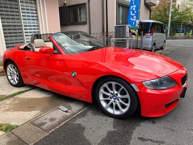 BMW ロードスター2.5i地デジHDDナビベージュ幌ワンオーナー車