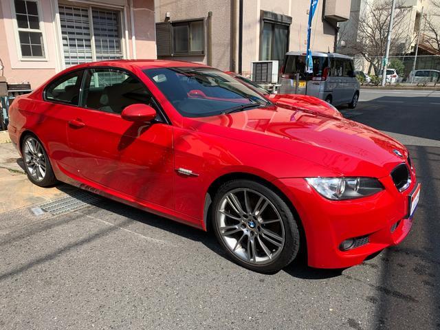 BMW 3シリーズ 320i Mスポーツパッケージ 新品カロッツェリアナビTV&バックカメラBluetooth・SDカード対応・令和2年4月ガラスコーティング施工済・稀少クリムゾンレッドのMスポーツクーペ・ガンメタリックMスポーツ18インチアルミETC