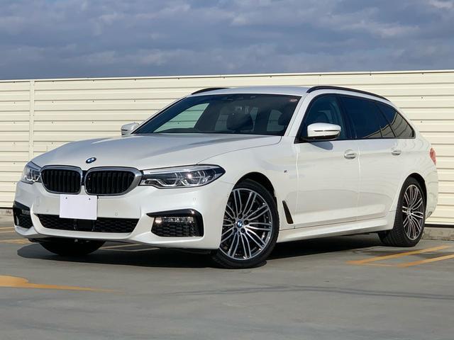 BMW 523iツーリングMスポ スペシャルカラブリリアントホワイト