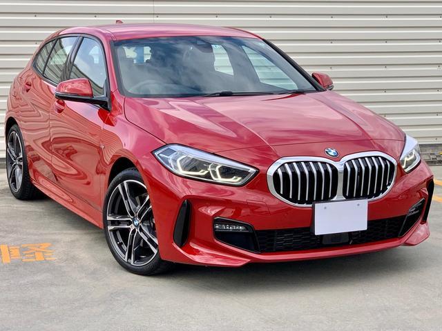 BMW 118i Mスポーツ ハイラインパッケージ ハイラインパッケージ・コンフォートP ・ナビゲーションP ・ACC・イルミネーテッドインテリア・オートマチック・テールゲート・電動フロントシート左右・フロントシートヒーター・Qiワイヤレス充電
