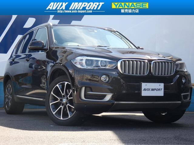 BMW xDrive35d xライン パノラマ茶革 7人乗り 禁煙車