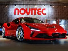 F8トリブート NOVITECエキゾーストシステム装着、フロントサスペンションリフター アダプティブFrライトシステム FrRrパークセンサー シートヒーター カラードインナーディテール