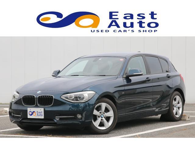 BMW 1シリーズ 116i スポーツ ユーザー様買取車両/ディーラー記録簿/純正ナビ/ミュージックサーバー/バックモニター/障害物センサー/プッシュスタート/ETC