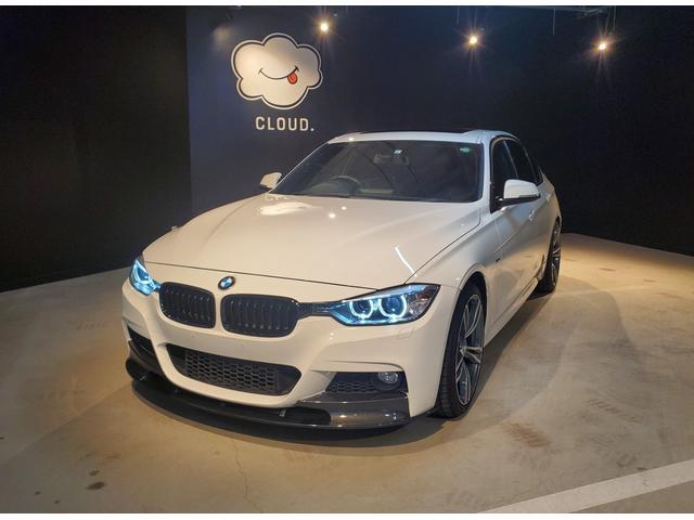 BMW 320d Mスポーツ ブラックキドニーグリル・サンルーフ・ダコタレザーシート・前席シートヒーター・ミラー型ETC・19インチアルミホイール