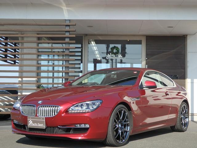 BMW 650iクーペ 法人1オーナー禁煙 LEDライト 18アルミ