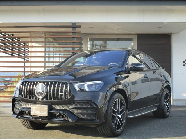 メルセデスAMG GLE53 4マチック+ クーペ ワンオーナー 左Hディーラー車 禁煙車 AMGインテリアカーボンパッケージ パノラミックスライディング付き