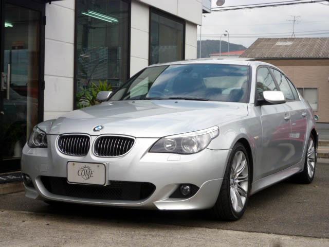 BMW 530i Mスポーツパッケージ  ナビ・黒革・SR