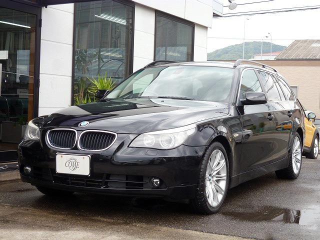 BMW 525iツーリングハイラインパッケージ iDrive純正ナビ