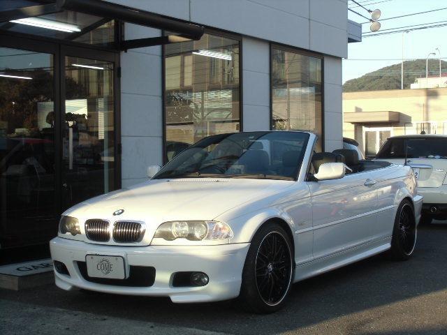 BMW 330Ciカブリオーレ Mスポーツ   レザーシート