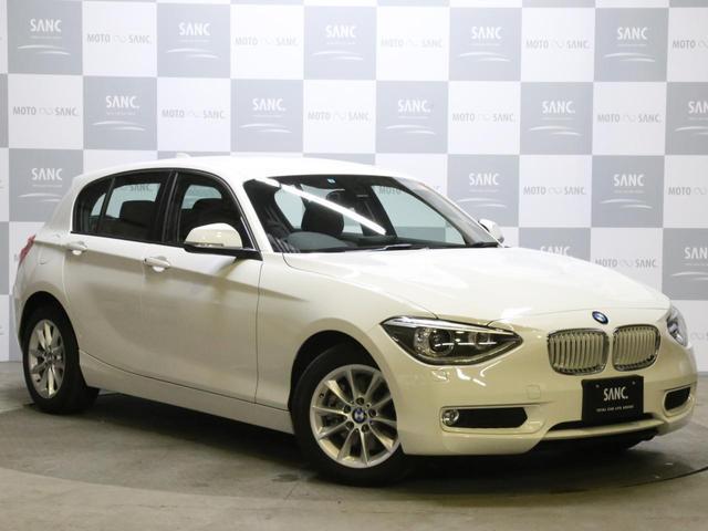BMW 116iスタイル 禁煙 純正HDDナビ バックカメラ ETC