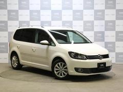 VW ゴルフトゥーランTSIハイライン 禁煙車 ナビTVBカメ クルコン 7人乗り