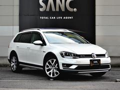 VW ゴルフオールトラックTSI 4M アップグレードPkg 1オナ 禁煙 純正ナビ