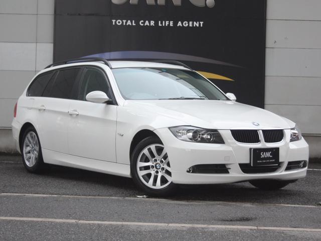 BMW 320iツーリング ハイラインPkg 黒革 キセノン ETC