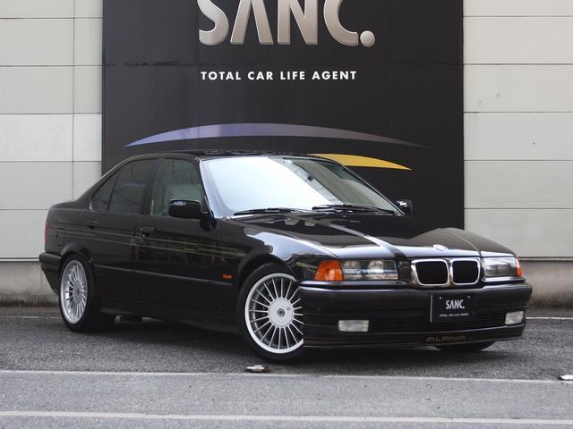 BMWアルピナ 3.2リムジン ホワイト革 電動サンルーフ ETC 6MT