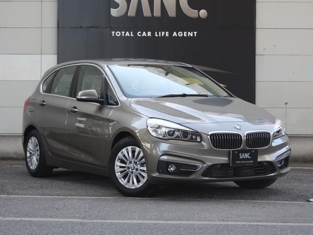 BMW 218i AT ラグジュアリー 1オナ ベージュ革 Pゲート