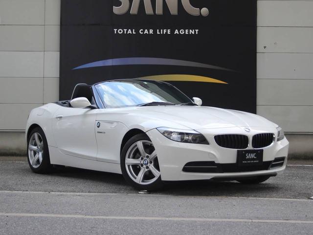BMW sDrive23iスタイルエッセンス キセノンヘッドライト カロッツェリア製ナビゲーション/DVD視聴・MSV/ ETC 電動オープン 純正17インチアルミホイール ETC バイキセノンヘッドライト キーレスエントリー 電動格納ミラー