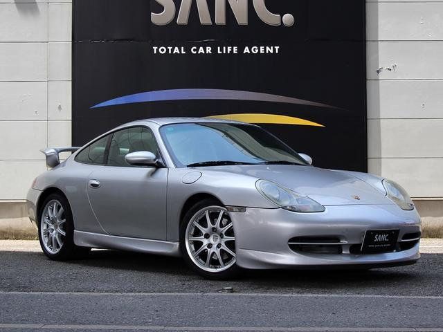 ポルシェ 911 911 カロッツェリア製ナビ地デジバックカメラ 純正オプションBBS製18AW ドライブレコーダー 黒革 Fバンパー・サイドスカート・リアウィング  キセノンヘッドライト キーレス GT3仕様 左ハンドル