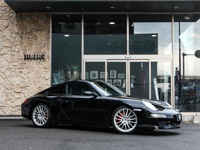 ポルシェ 911 911カレラ4S スポーツクロノ スポーツエクゾースト PASM対応ビルシュタイン B16車高調 シートヒーター ミシュランパイロットスポーツ 純正HDDナビ TVフルセグ DVD/CD FM/AM Bluetooth