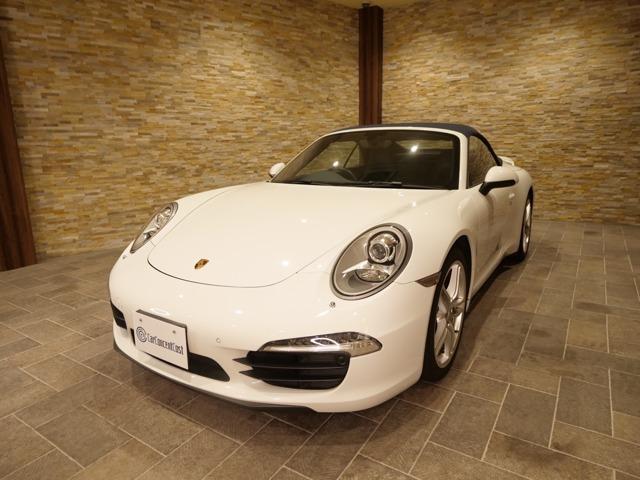 ポルシェ 911カレラ カブリオレ PDK ラッピング 元色白
