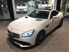 M・ベンツSLC200スポーツ ダイヤモンドホワイト 新車保証継承