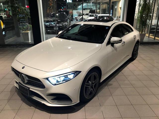 メルセデス・ベンツ CLS220dスポーツ EXクルージブP SR 新車保証継承