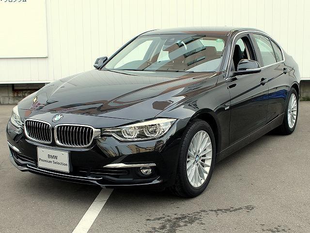 BMW 318i ラグジュアリー LEDライト 黒革 17AW