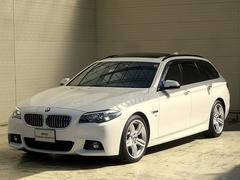 BMW523dツーリング Mスポーツ後期ACCWSR19AW黒革