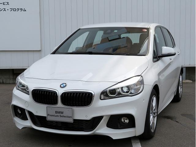 BMW 218iアクティブツアラー ACC HUD 茶革 17AW