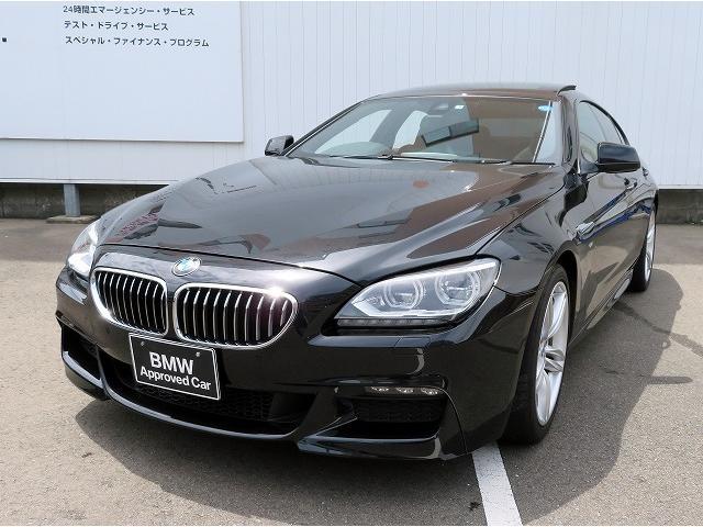 BMW 640iグランクーペ Mスポーツパッケージ SR 黒革