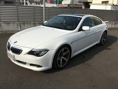 BMW630i 純正ナビ バックカメラ 19インチAW
