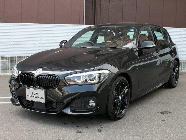 BMW 118i Mスポーツ エディションシャドー18AW茶革ACC
