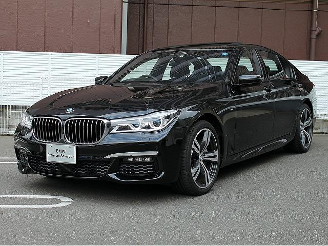 BMW 740d xDrive MスポーツレーザーライトSR黒革