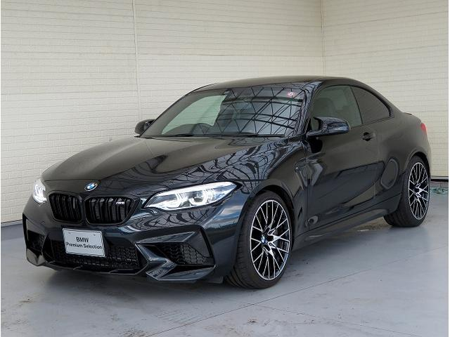 BMW M2 コンペティション LEDライト 19AW PDC コンフォートアクセス 黒革 iDriveナビ フルセグ Bカメラ harman/kardonサラウンドシステム レーンディパーチャーウォーニング クルーズコントロール