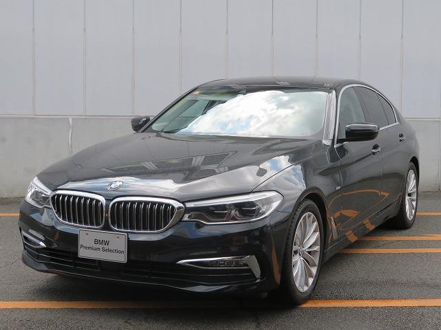 BMW 530iラグジュアリー LEDヘッドライト 18AW オートトランク コンフォートアクセス レザーシート ブラックレザー マルチディスプレイメーター 純正ナビ トップ リアビューカメラ Aクルコン レーンチェンジ 認定中古車