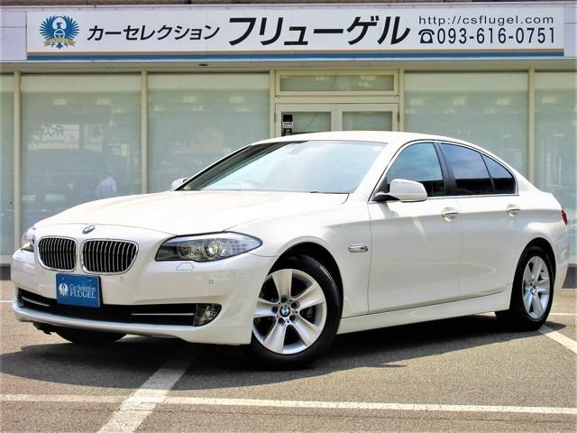 BMW 528i ワンオーナー 純正HDDナビ 黒本革シート